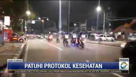 Tim pemburu Covid-19 pada Jumat (26/2/2021) malam membubarkan kerumunan klub motor dan pedagang yang berjualan tanpa prokes di kawasan Jalan Tentara Pelajar, Senayan. #COVID19UpdateMetroTV #KnowledgeToElevate