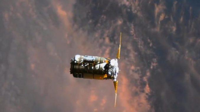 Космический корабль Сигнус запущен к МКС на американо-украинской ракете -   #Cygnus