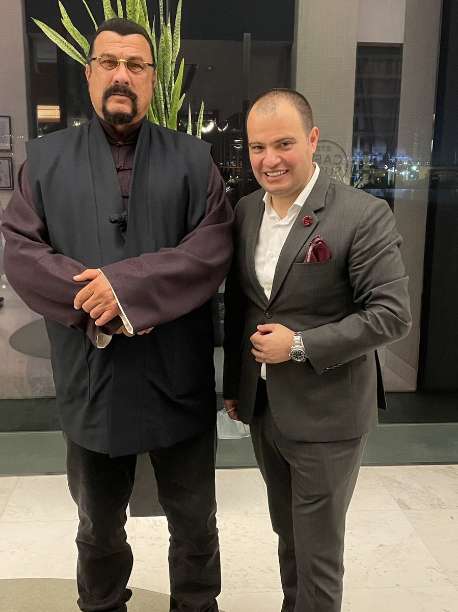 The Legendary World Famous Actor Steven Seagal #Hollywood #Actor #inabudhabi #martialartist #scriptwriter #statesman #musician @sseagalofficial https://t.co/zhy8NBdjgm