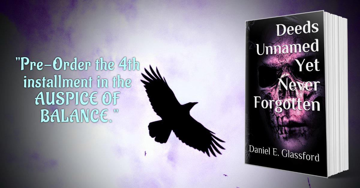 Be prepared this one will hit you right in the feels...  Pre-Order now or when it's live on March 12th! #AuspiceOfBlance #DUYNF #amwriting #amwritingfantasy #WritingCommunity