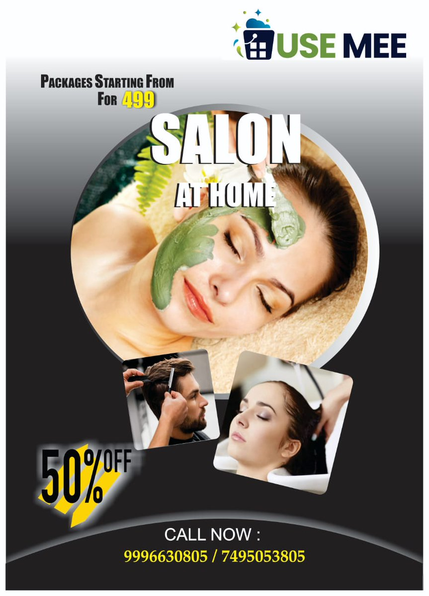 USE MEE Professionals   Bring Your Salon at Your Home  And Get All Your Problems Solved  . . . #fitness #follow4follow #swag #amazing #photo #hair #vsco #music #l4l #dog #nofilter #style #beauty #vscocam #followforfollow #party #TFLers #cool #prilaga #sun #sky #bestoftheday #beah