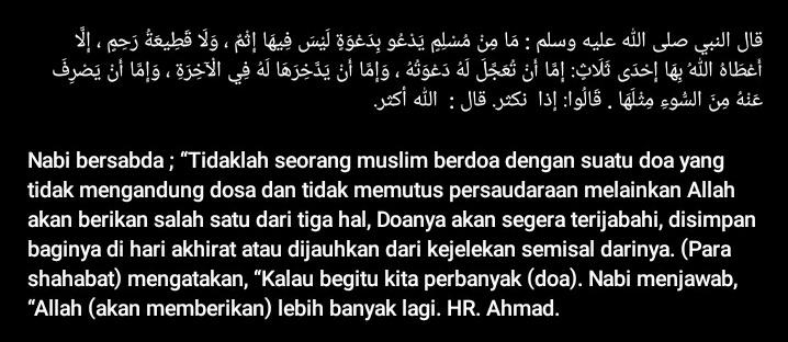 🤲 jangan lupa berDOA