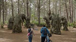Watching the first episode of #DinoFury and wishing #Dinohenge was a real place. It looks really cool.