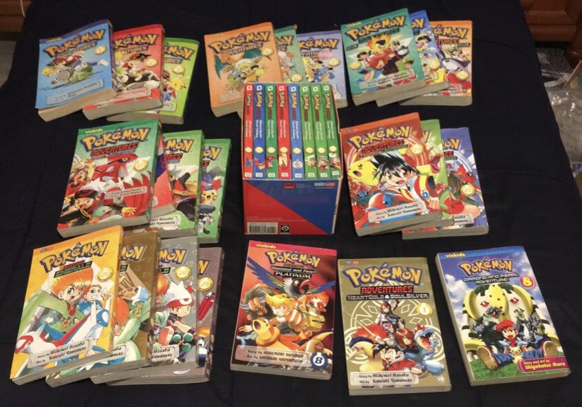 If I don't see any love for the Pokémon Special/Adventures Manga on #PokemonDay then we're gonna have a problem