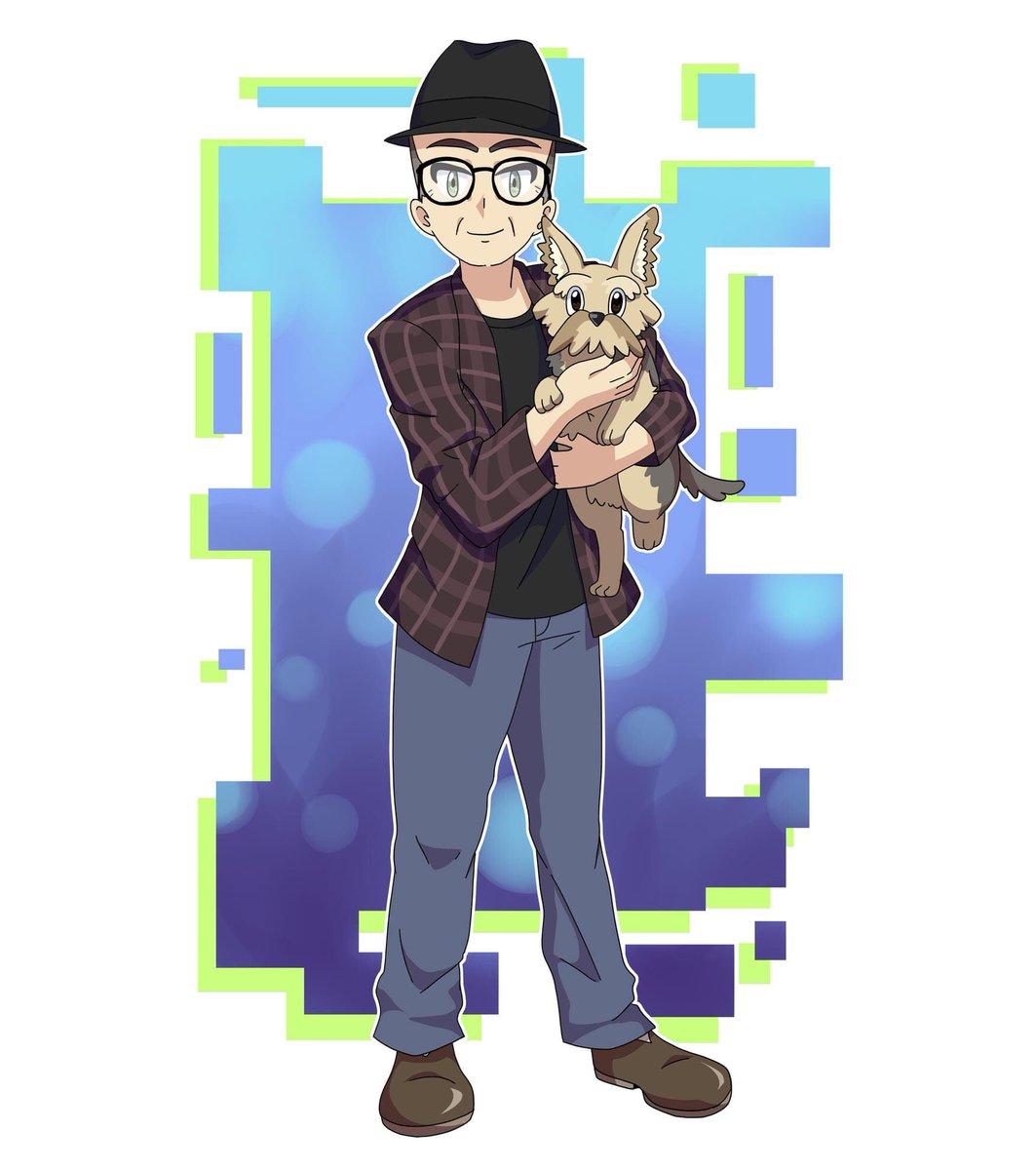 Happy Pokémon Day from Darla the Wonder Dog and me! #PokemonDay