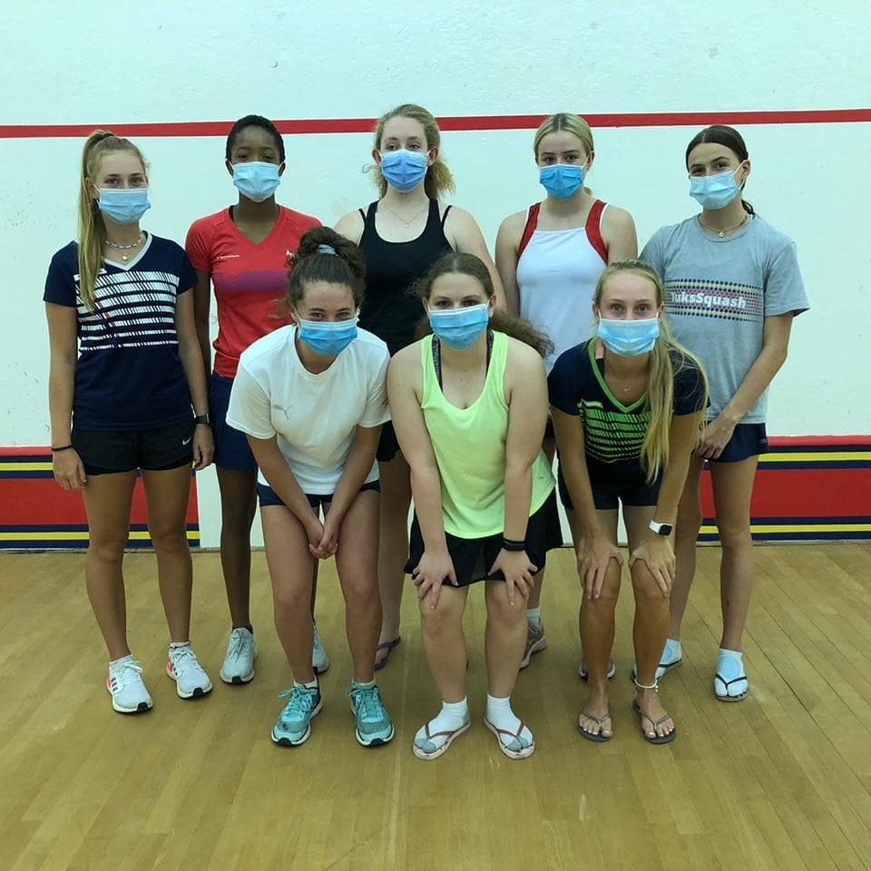 #HighPerformanceCentre: SATURDAY FOR SQUASH  Last month, #TuksSquash started off the #NewYear2021 with their High-Performance Camp where South Africa's leading junior players prepared for the season ahead.  𝙇𝙚𝙩 𝙩𝙝𝙚 𝙨𝙦𝙪𝙖𝙨𝙝 𝙗𝙖𝙡𝙡𝙨 𝙨𝙩𝙖𝙧𝙩 𝙧𝙤𝙡𝙡𝙞𝙣𝙜!!!
