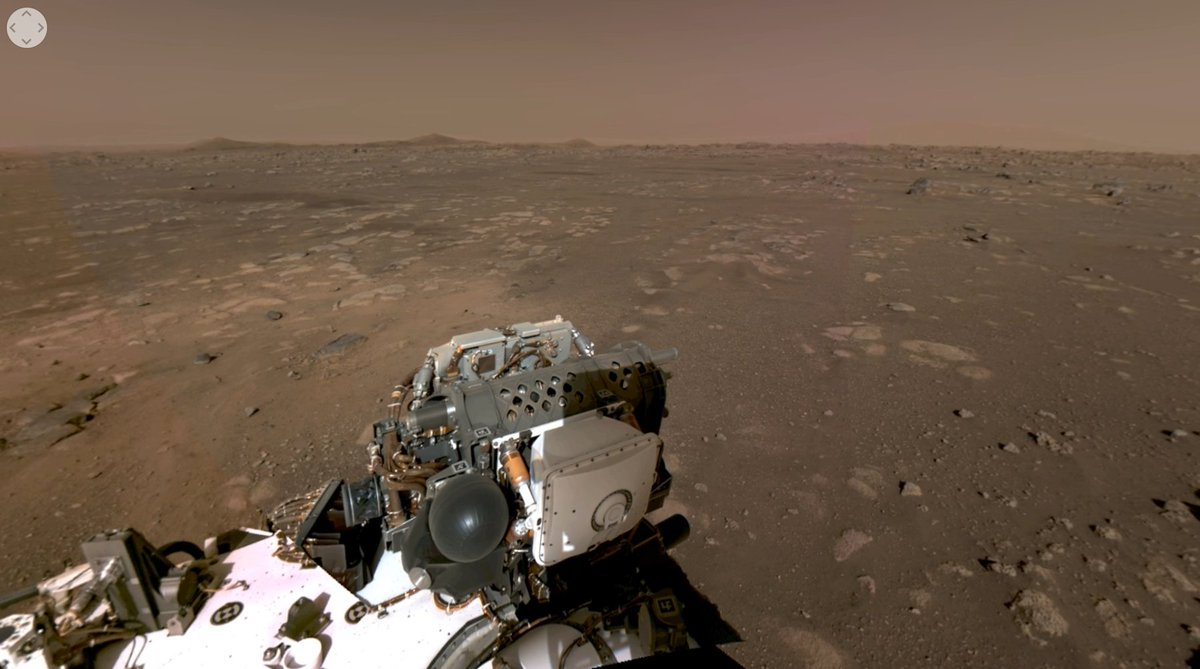 Ok we might not have flying cars yet but we do have AN ACTUAL 4K 360-DEGREE PANORAMIC VIDEO OF THE SURFACE OF MARS