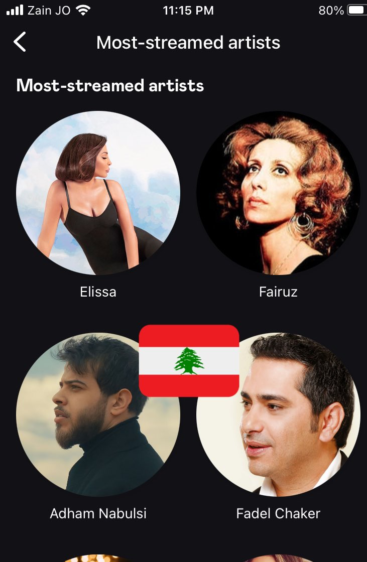 #اليسا تتصدر الفنانين الاكثر استماعا على تطبيق ديزر في لبنان  والبوم #صاحبة_رأي الذي طرح قبل 7 أشهر  يحتل المرتبة الثالثة 3 في قائمة الالبومات الاكثر استماعا في مصر على تطبيق ديزر 🇱🇧 🇪🇬❤️ @elissakh