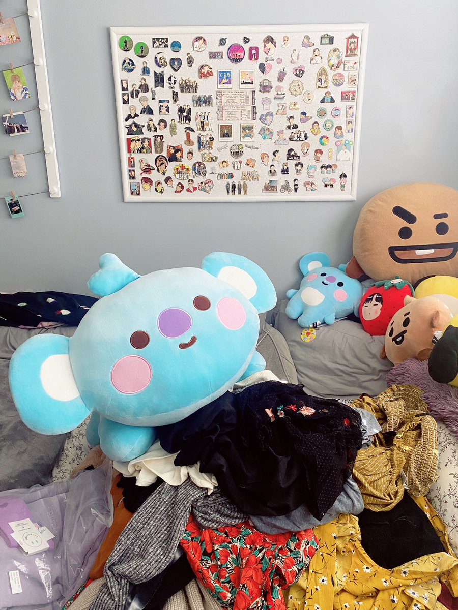 Giant baby Koya is ready for his cameo in the spring day music video 🌸 @BTS_twt