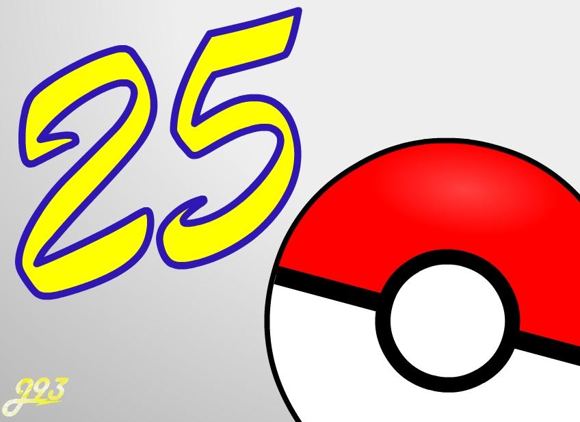 Happy Pokémon Day everyone! #Pokéball #Pokemon25 #PokemonDay #Pokemon25thAnniversary