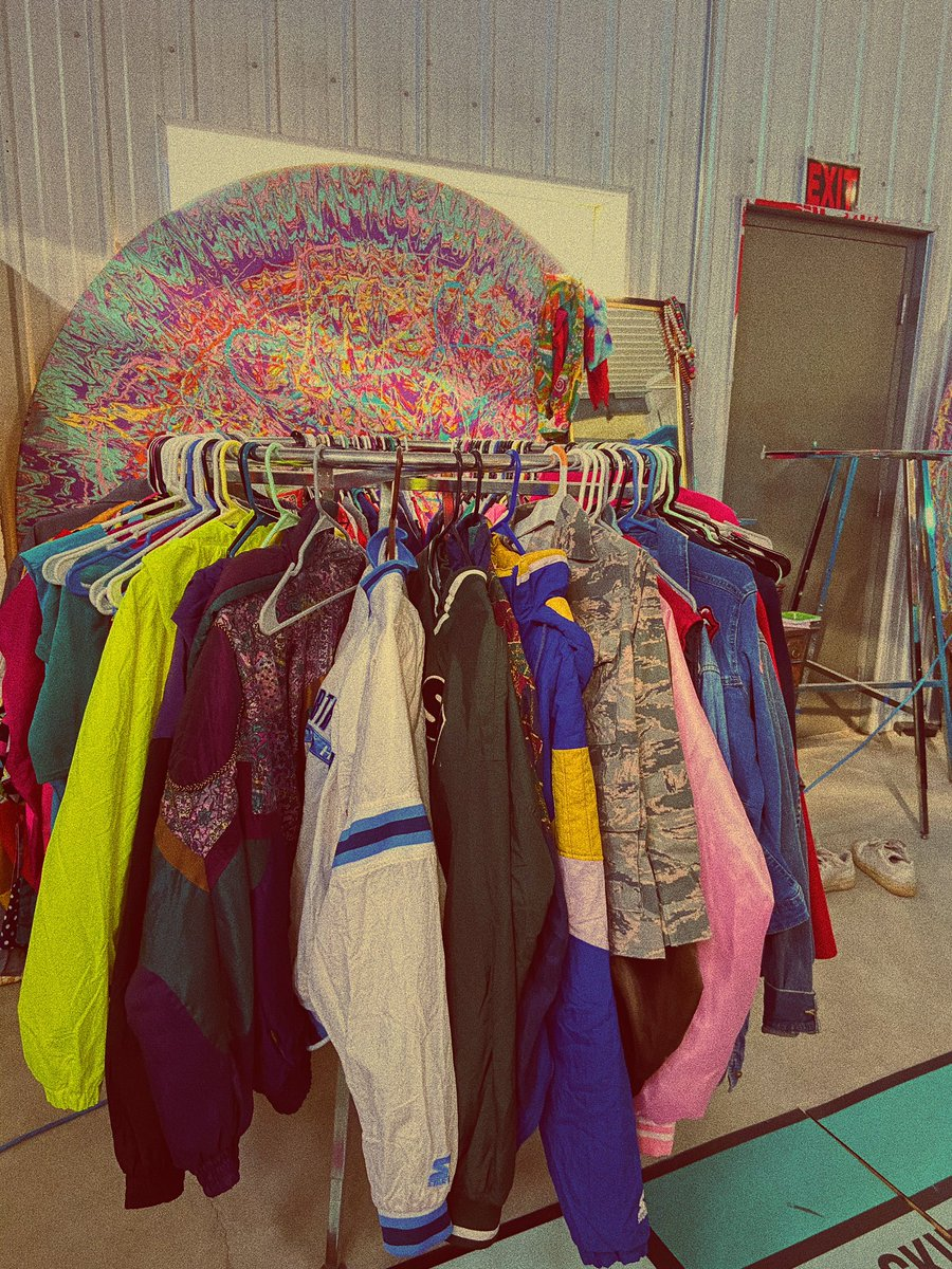 """Retro Day continues with Paula's favorite #DakJam21 thing: our closet full of the most nostalgic looks and trends, also known around the HQ as the """"Dakloset""""   #NightsofNostalgia #DakPak #retro #fashion #style #momjeans #80s #90s #80sstyle #90skid #throwback #NationalRetroDay"""
