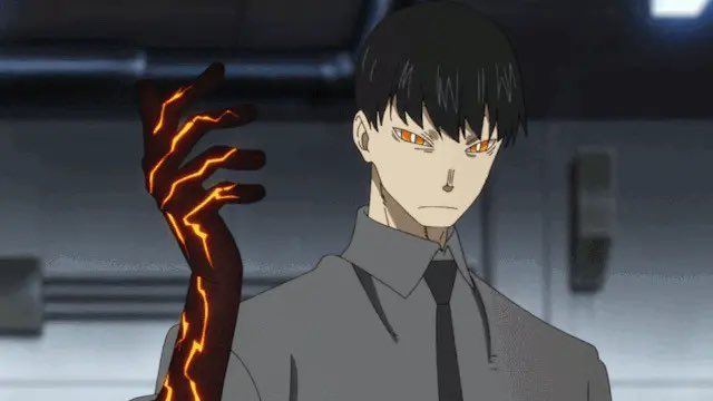 Excited to make my Fire Force #Toonami debut tonight at 12:30am central as the Reaper, Kurono!   After Fire Force, stay for Black Clover (I'm the RESPECTFUL playboy, Finral) and SSSS.Gridman (I'm bewildered boy Yuta) right after!