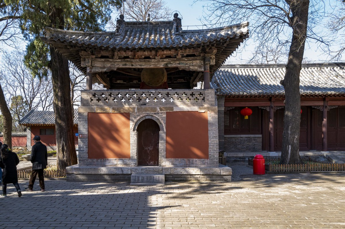 The Lingyan Temple is a Buddhist temple located in Jinan, Shandong Province. It was originally built in early Eastern Jin Dynasty, and it gained a greater reputation during the Northern Wei Dynasty (386 - 534), the temple reached its apex of importance during the Tang Dynasty.