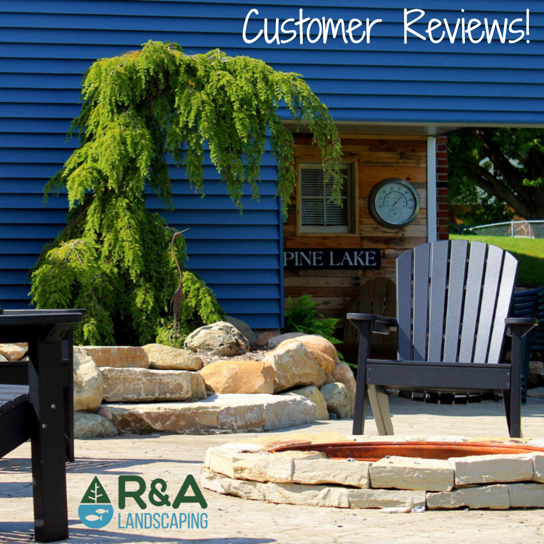 """Andy and his staff of trained professionals do an exceptional job. R & A always puts the client ""First"". Great job Andy!""  - Scott  Thank you Scott for your feedback and support! We love our customers!  #Reviews #Facebook #NewLandscape"