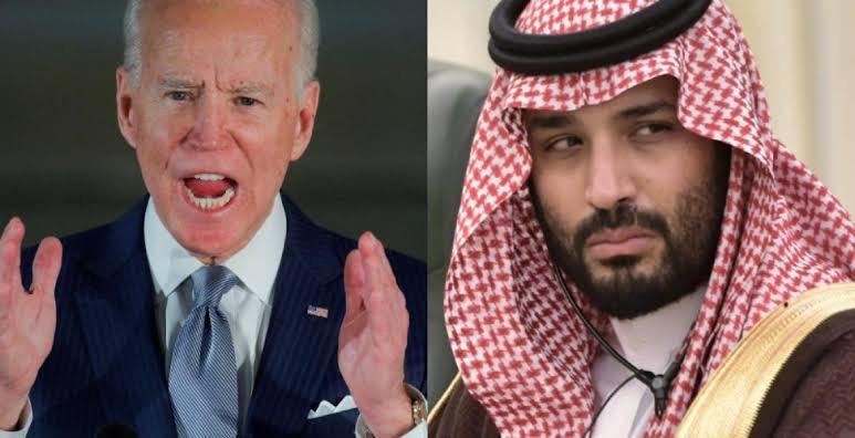 """بايدن: سنصدر إعلانا الإثنين حول ما سنفعله مع السعودية 🇸🇦    ردا على سؤال حول احتمالية فرضه عقوبات على ولي العهد السعودي ، قال #بايدن في مؤتمر صحفي""""سيكون هناك إعلان الإثنين حول ما سنفعله مع #السعودية بشكل عام""""، بحسب موقع """"يو إس نيوز"""" الأمريكي . #مبس_قاتل_خاشقجي  #خاشقجي"""