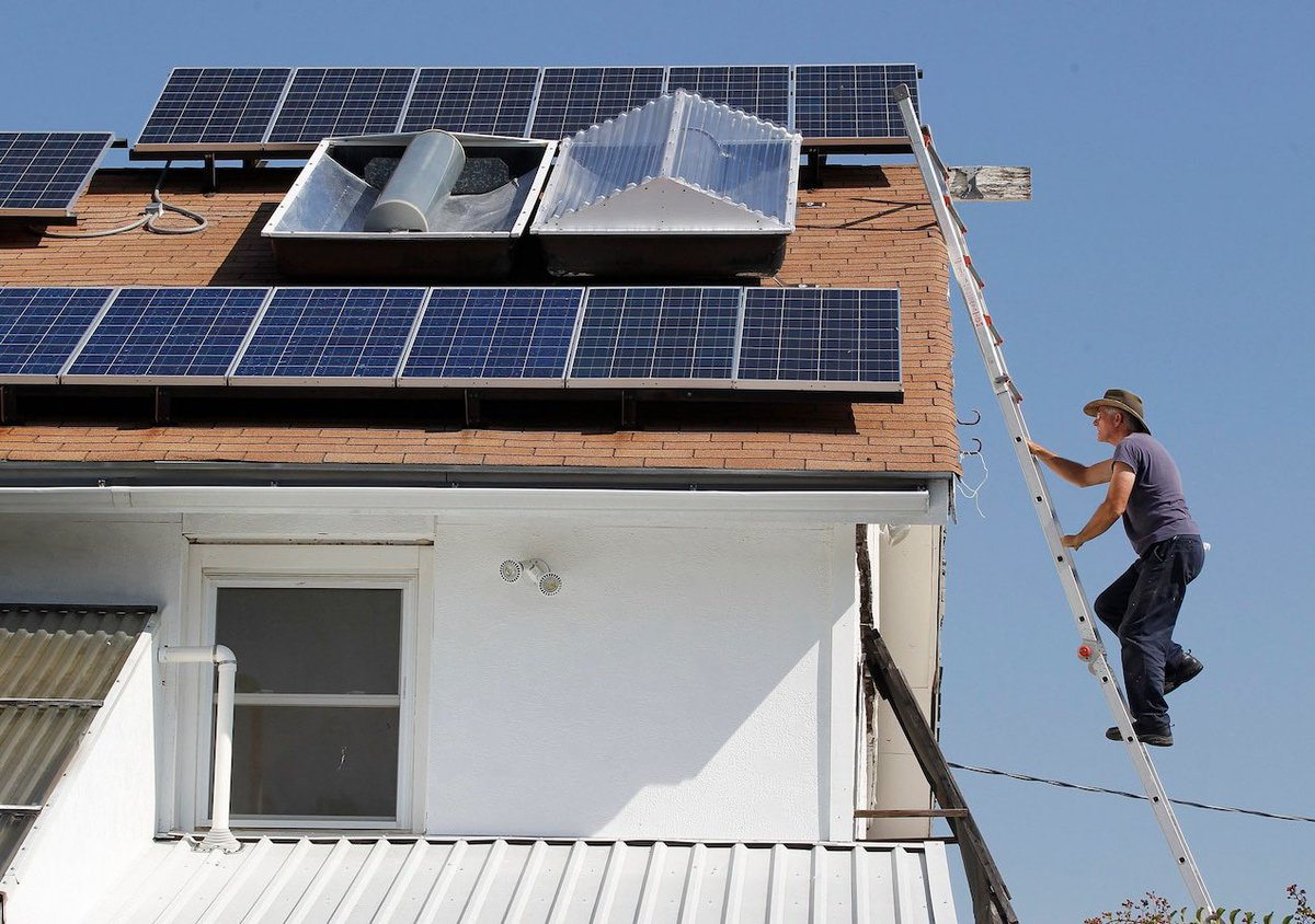 ✅YES IT WILL‼️ Solar panels and batteries on your home could help prevent the next grid disaster    #solarpowered #climatechange #sustainability #renewables #sun #electricity #energiafotovoltaica #sunpower #renewable #fotovoltaica #fotovoltaico #bhfyp