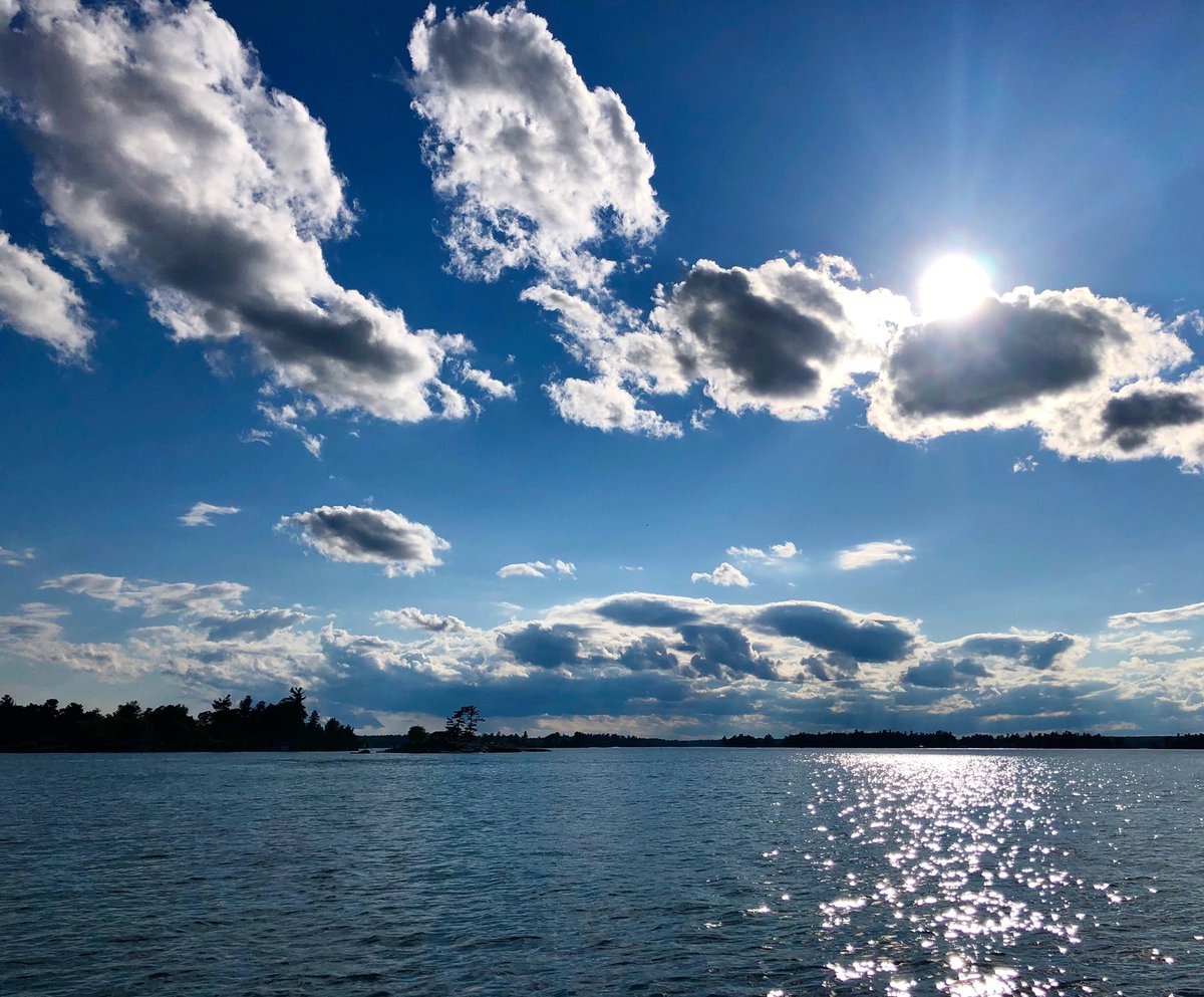 #summer #skies #clouds #sun #mikephillipspic #onthewater
