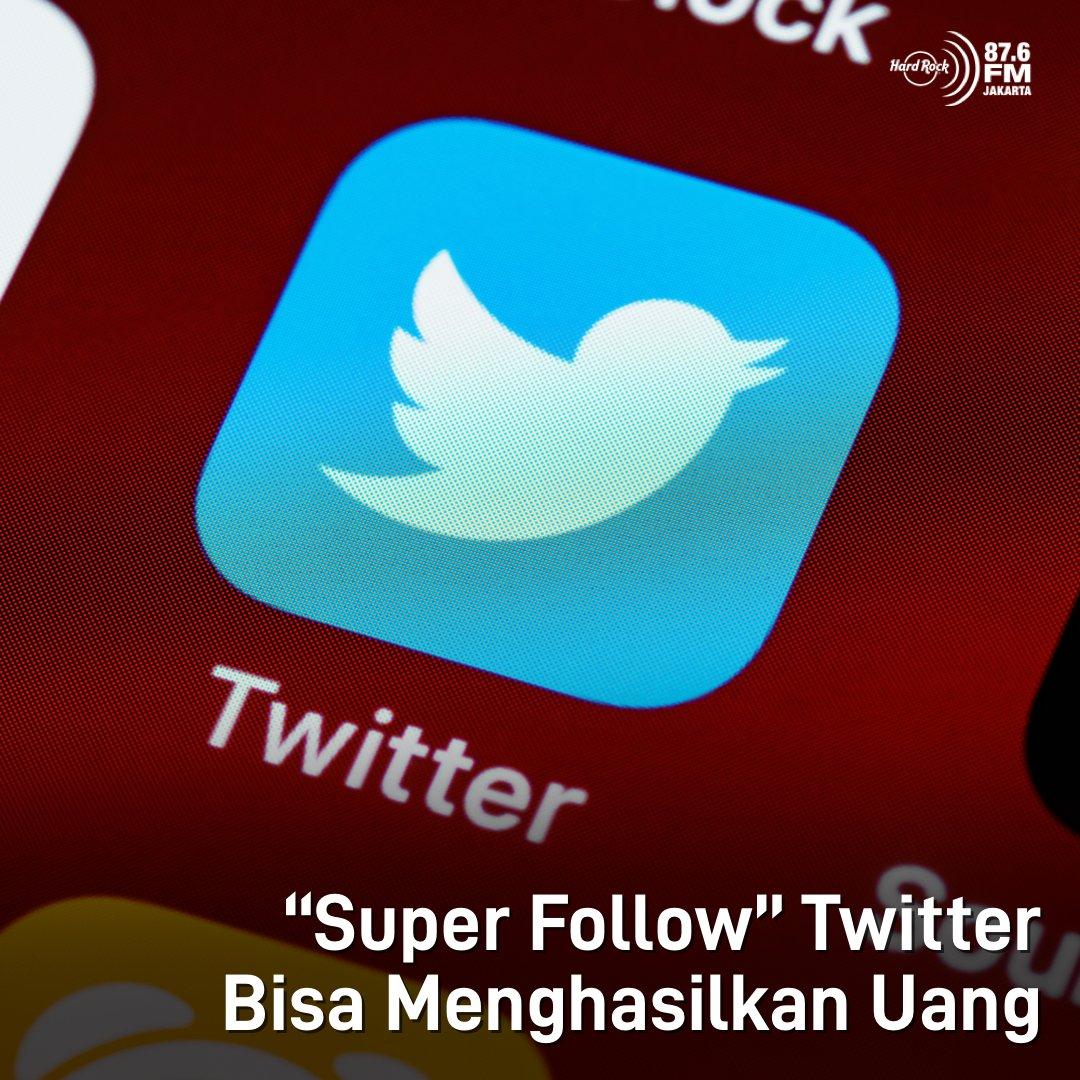"""#HRFMNews """"Super Follow"""" di Twitter bisa menghasilkan uang!  Mirip dg YouTube, nantinya Twitter akan merilis fitur monetize yg memberikan fitur eksklusif bagi pelanggan yg membayar dan tidak didapatkan oleh pengguna yg gratis. Hmm, worth it kah?"""