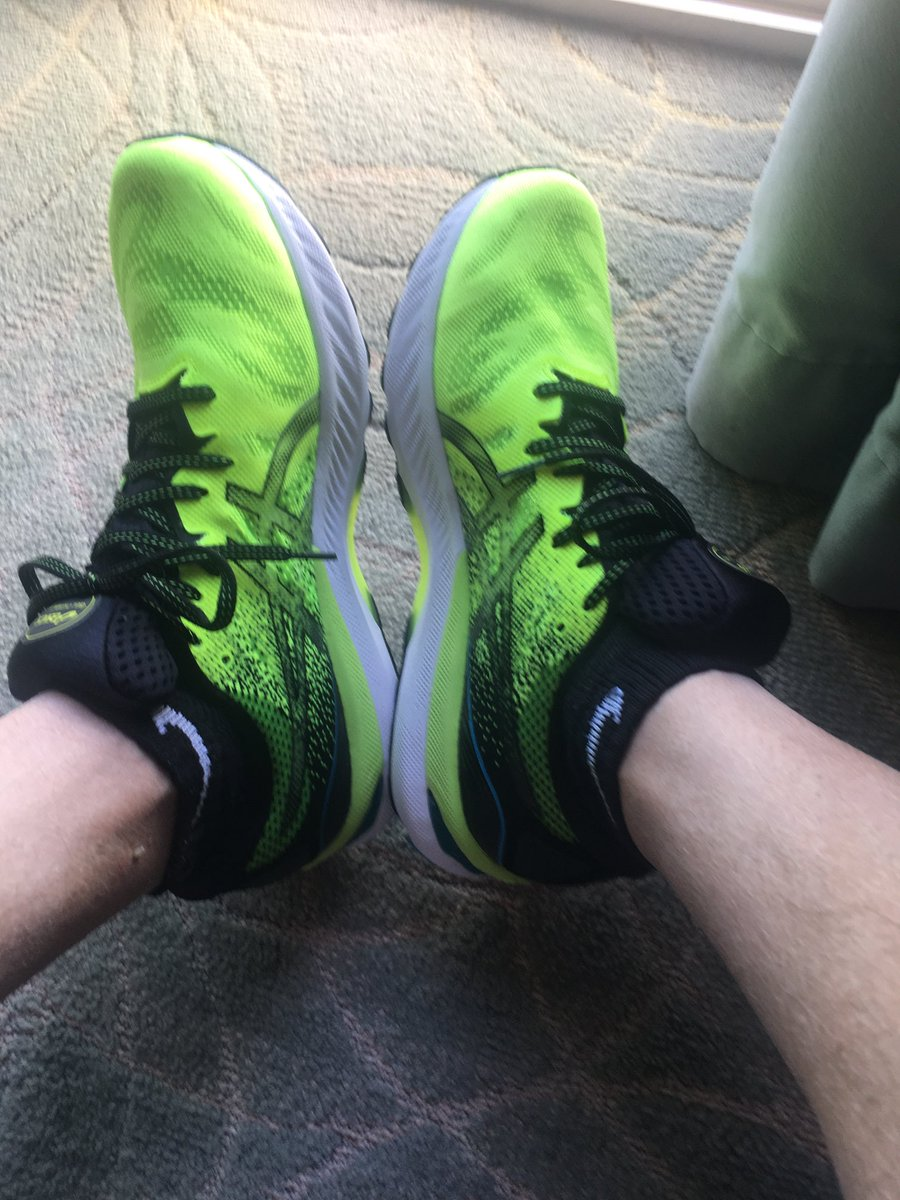 New kicks. If you see a blur flying past you — probably me.
