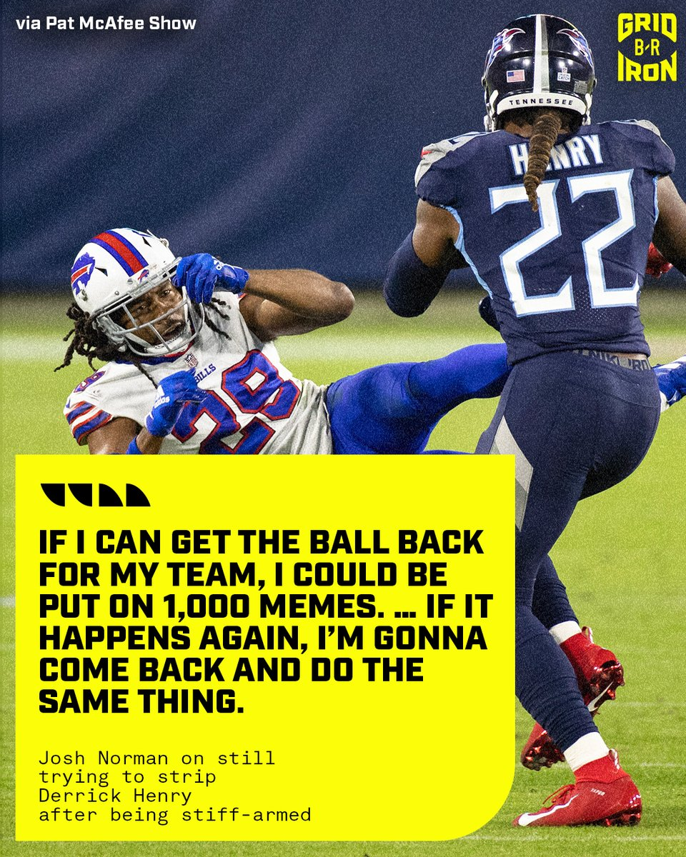 Replying to @brgridiron: Josh Norman isn't backing down 😅   (via @PatMcAfeeShow)