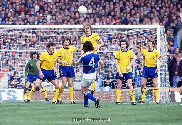 Brian Talbot free-kick against Arsenal at Wembley 1978. #itfc #afc #facup #facup78