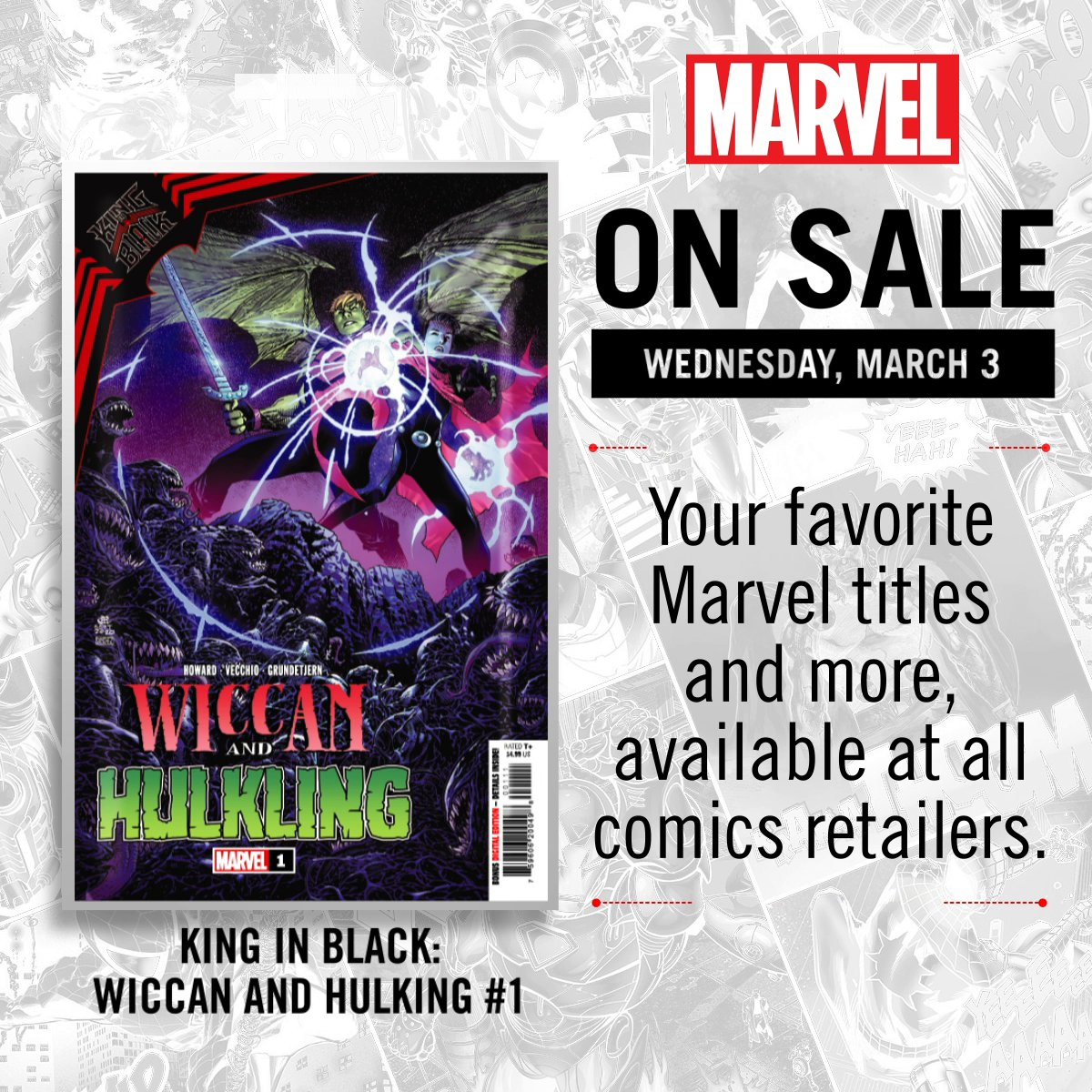 New comics hit shelves next week! What are you reading first?