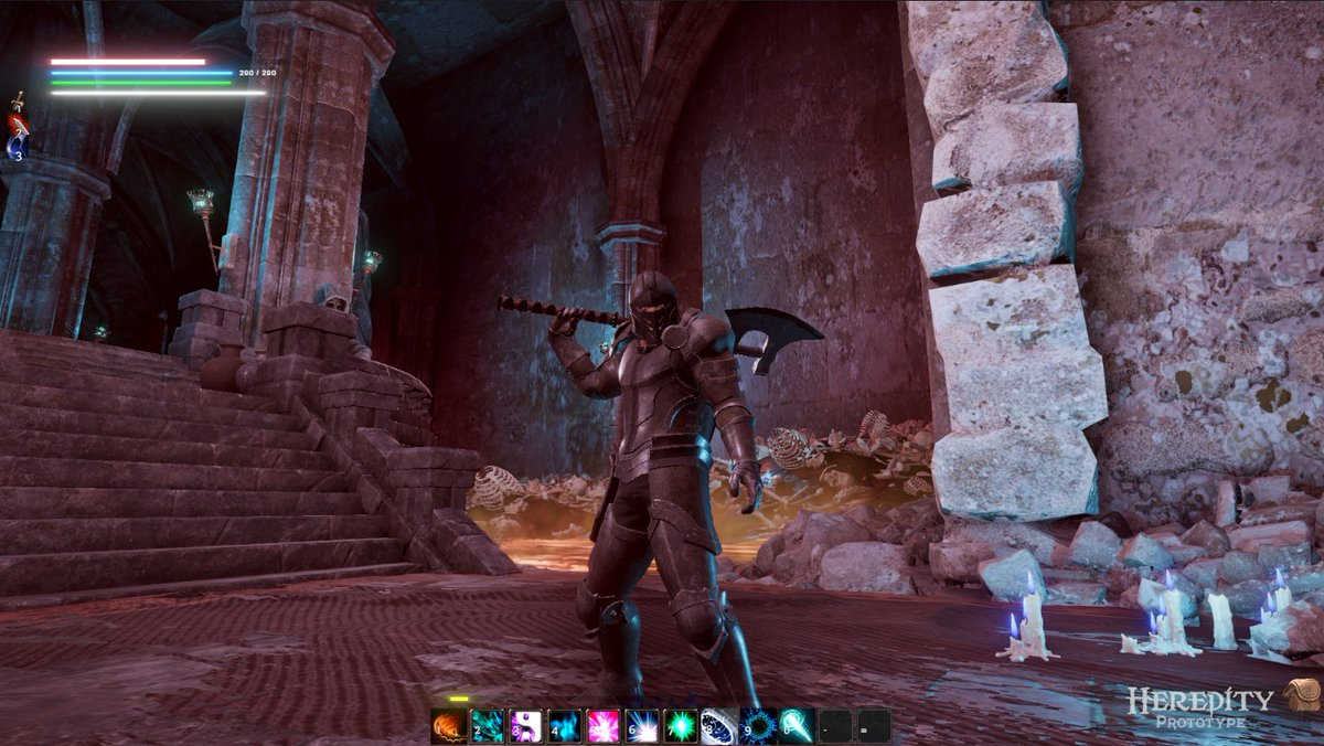 Devshot #hereditythegame (RPG in Development)  #screenshotsaturday #RPG #fantasy #explore #dungeon  #demons #undead #videogames #gaming #gamers #games #gamedev #indiedev #indiegames #indiegame #indie #pcgaming #pc #gamer #indiegamedev #screenshots #SaturdayVibes #SaturdayThoughts