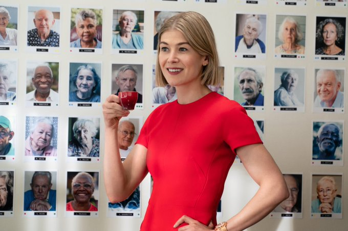 Rosamund Pike Speaks Out About Body Being Altered for Movie Poster Photo