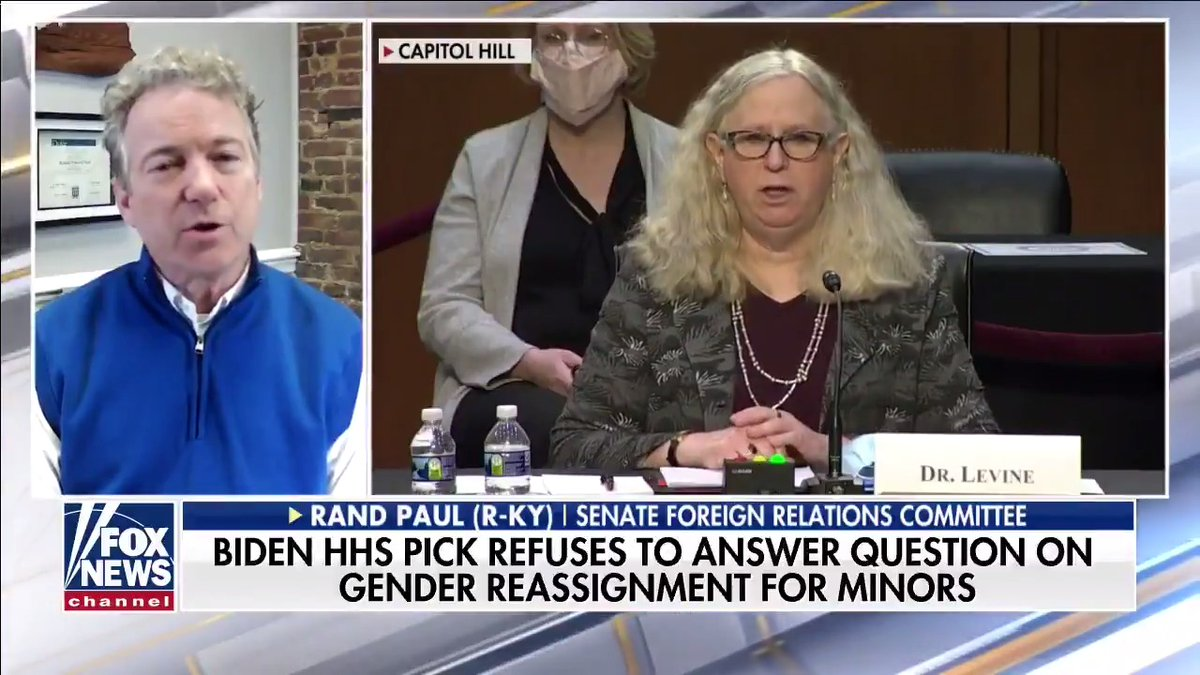 Biden HHS pick refuses to answer question on gender reassignment for minors.