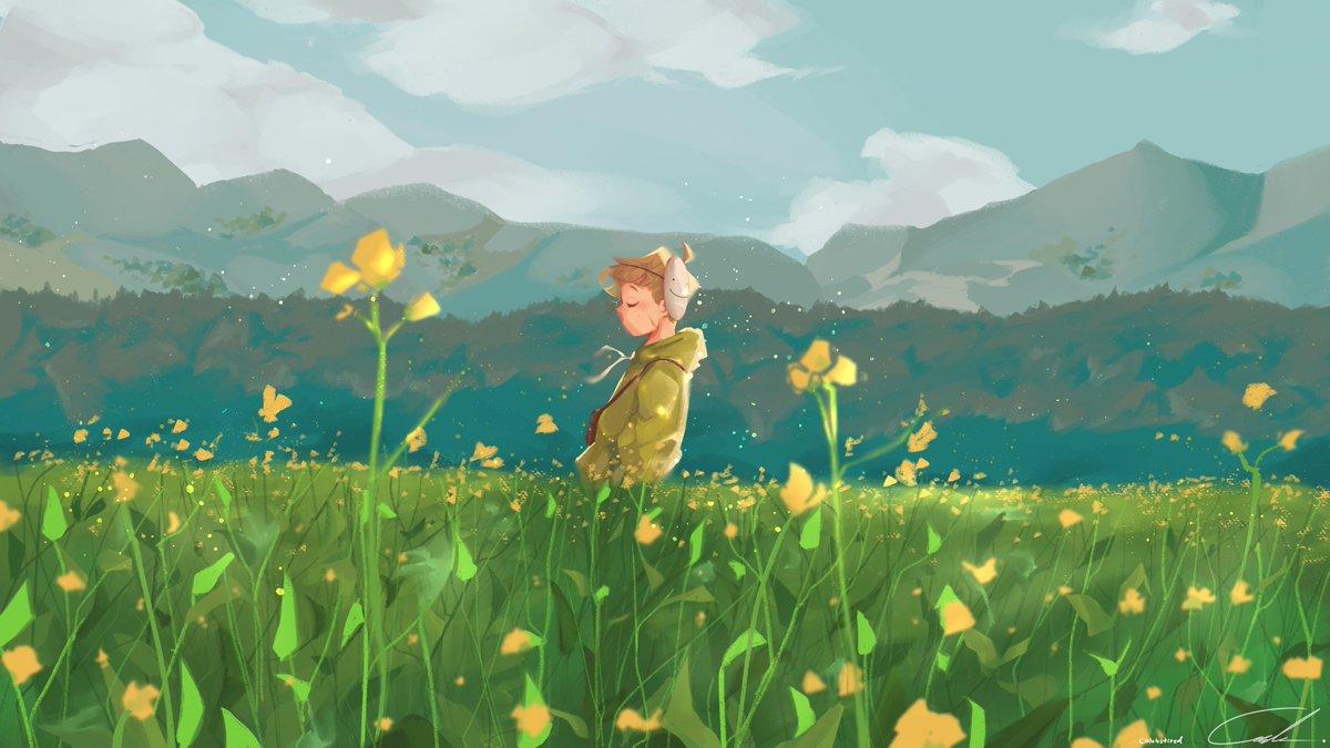 Replying to @calebstired: Flower boy #dreamfanart