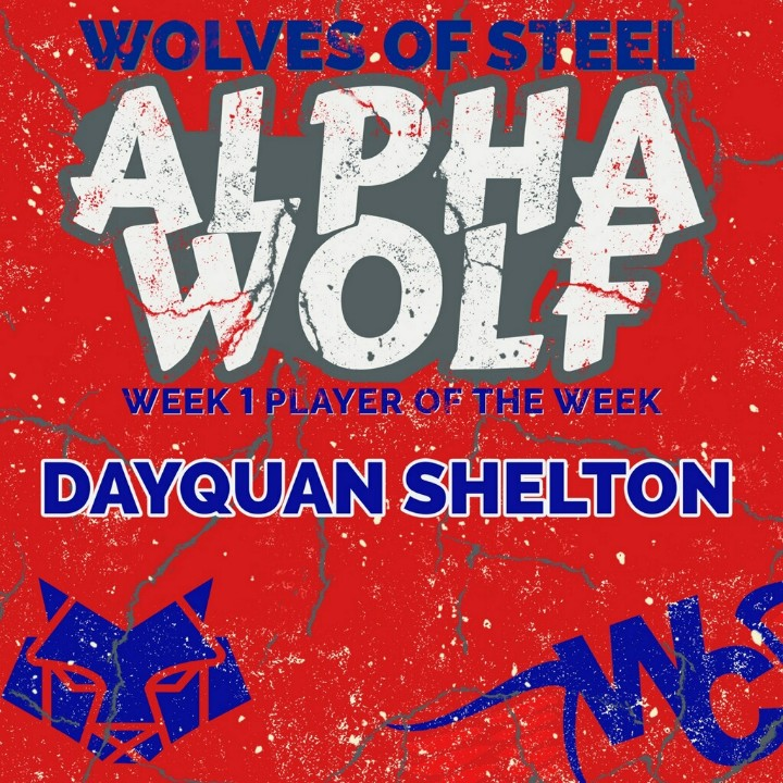 West Craven Alpha Wolf of the Week - Dayquan Shelton WC Eagles Club  . . . #Alpha #highschoolsports #WestCraven #DirtyBirds #CravenCountySchools #EagleNation #EC2A #RecruitTheEagles 🏈🦅