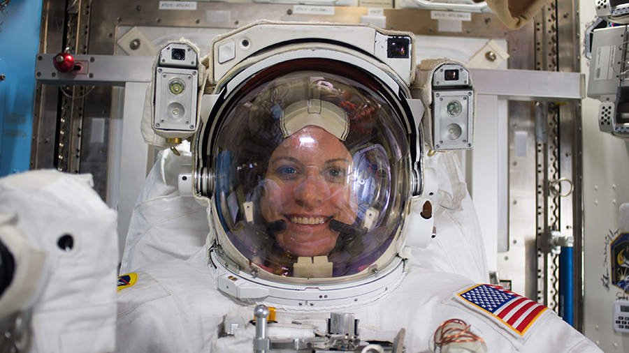 .@NASA_Astronauts Kate Rubins and Victor Glover will exit the station on Sunday around 6am ET for the third spacewalk of the year. @NASA TV begins its live coverage at 4:30am.
