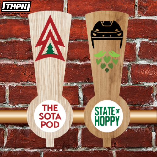 "#TheSotaPod EP131 Feat. @Backchannelbrew & @joeynadeau🍻  APPLE  SPOTIFY  WEB   Sign-up BONUS & Weekly DEALS at  w/ Promo Code ""THPN""💰  #hockeytwitter #craftbeer #mnwild #THPN #NHL"