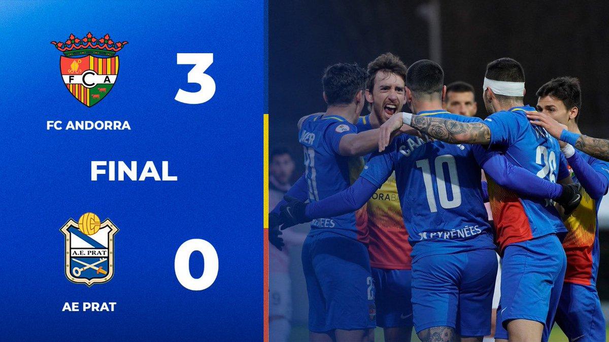 ⏱ FINAL !!  #AndorraPrat