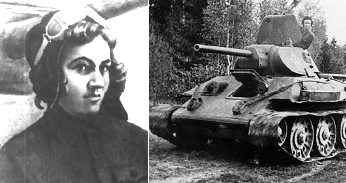 In 1941, a Russian woman, Mariya Oktyabrskaya, lost her husband when he was killed by the Nazis during WWII. In response, she sold all her possessions & bought herself a tank. After naming it Fighting Girlfriend she set out hunting & killing Nazis on the Eastern Front.