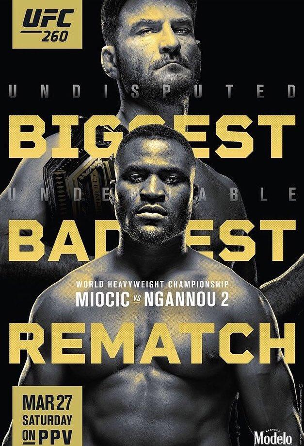 Let's fucking go ⚡️ #UFC260
