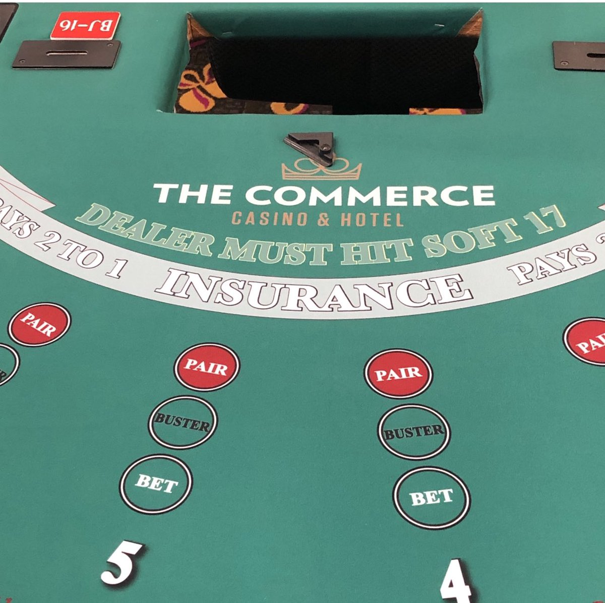 Commerce casino 3 card poker hotels near harrah s casino kansas city