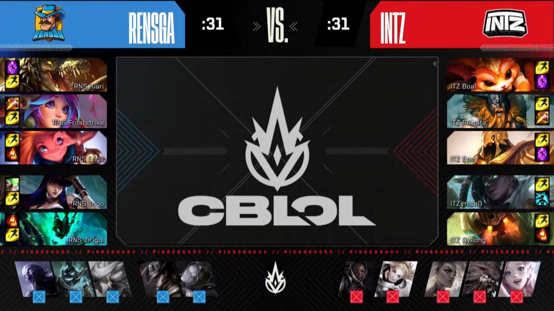 CBLOL – INTZ quebra sequência de derrotas e vem brigar pela classificação!