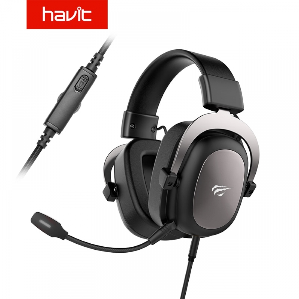 #beautiful #beauty HAVIT Wired Headset Gamer PC 3.5mm PS4 Headsets Surround Sound & HD Microphone Gaming Overear Laptop Tablet Gamer