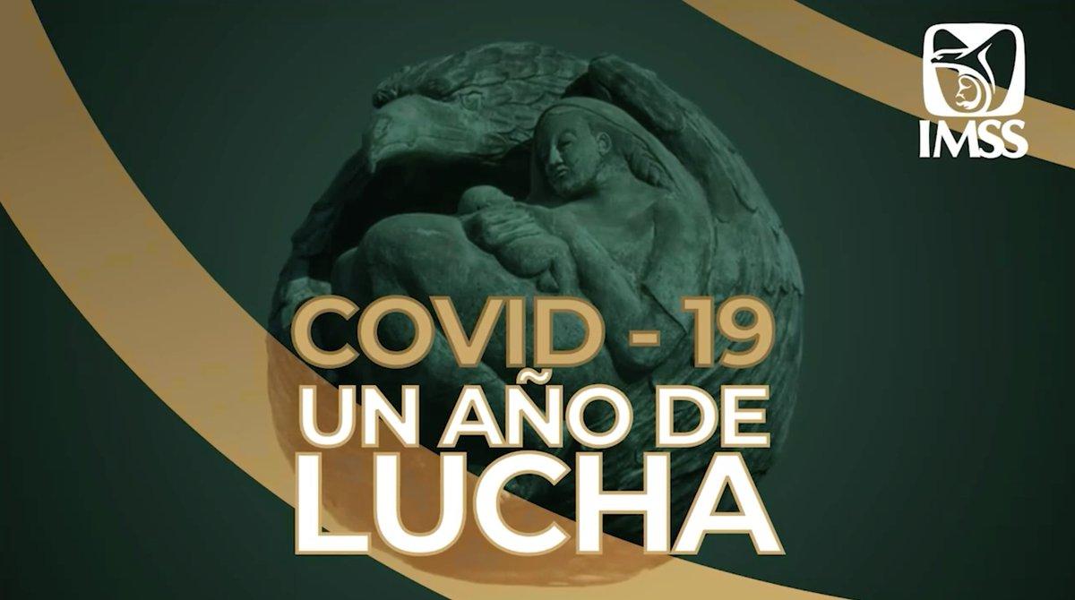 #UnAñoDeAtenciónCOVID A un año del primer caso de #COVID19 en México, el IMSS ha sido líder en este momento crucial de la historia. https://t.co/X2JpxMSrHp