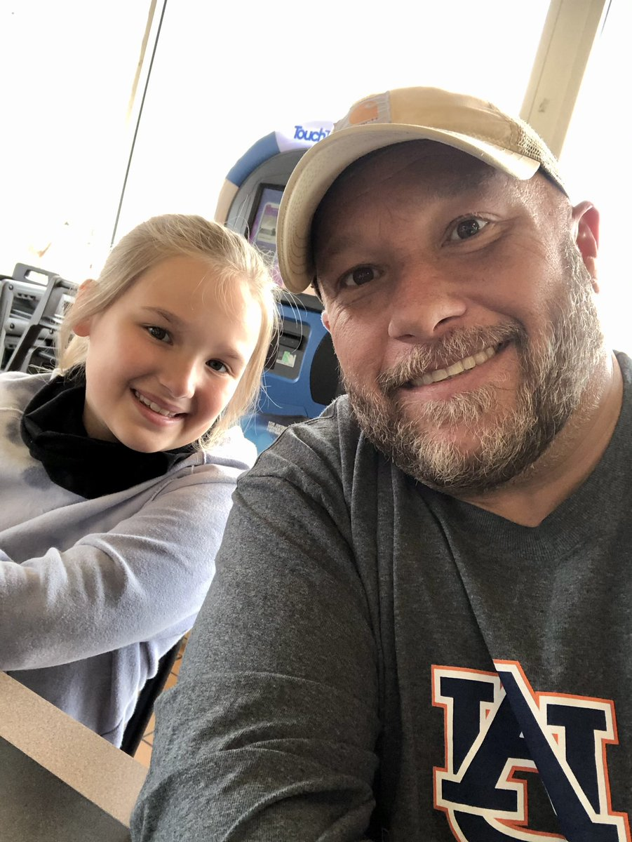 I sure do love my Waffle House buddy! #girldad #daughter #daddysgirl #blessed #family