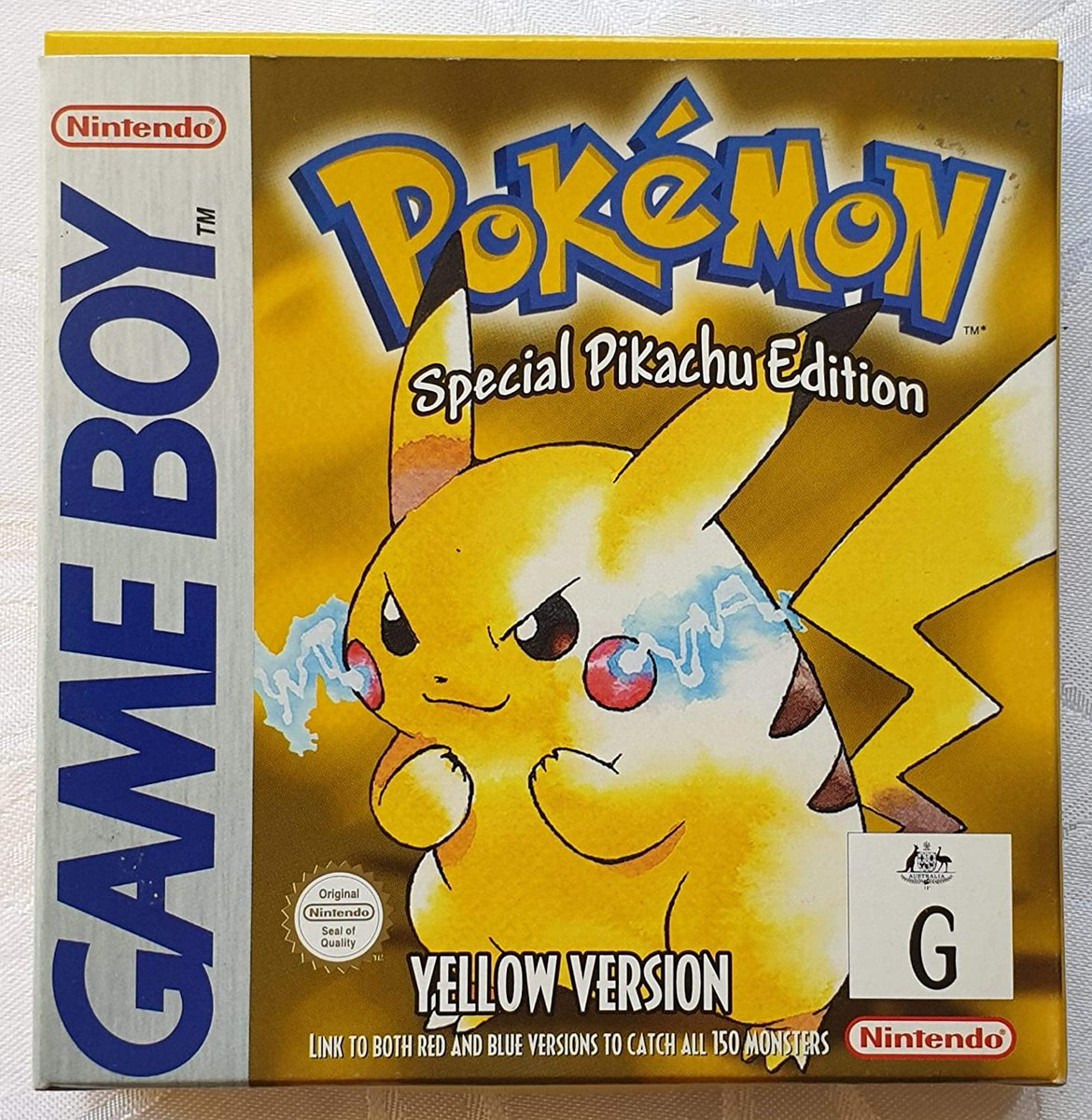 happy #PokemonDay i started my journey with this one...