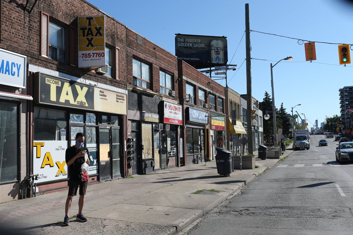"""""""Outreach is important. It needs to be about having people at the table making decisions ... """"Developers and planners have an onus to look at what's already there and what is thriving in these communities and how can they bolster those things. thestar.com/news/gta/2021/…"""