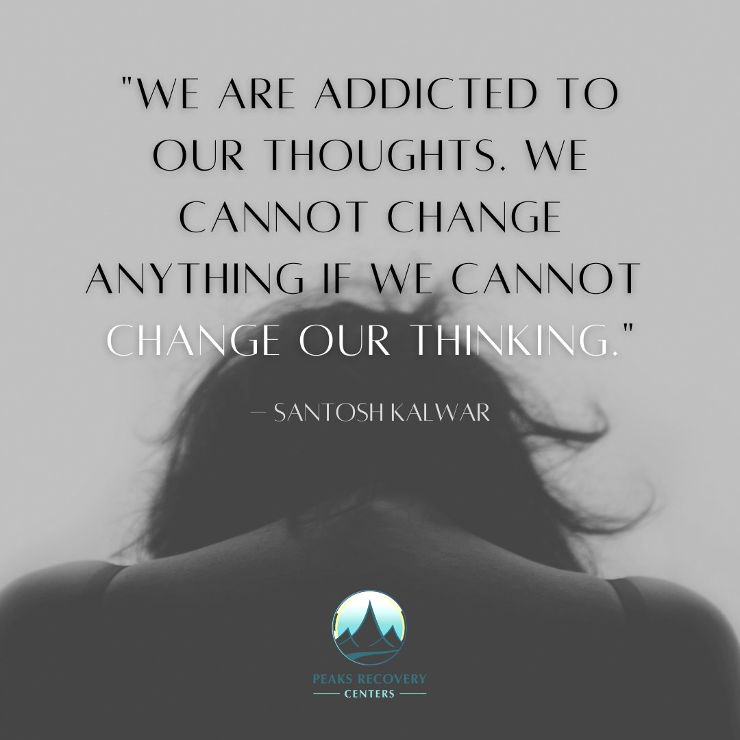 """Resist thinking, """"I can't"""" and start thinking """"I CAN."""" #PeaksRecoveryCenters #addiction #recovery #ithinkican #quote #qotd"""