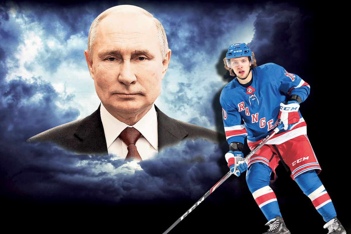 Why Putin keeps meddling with athletes like Rangers star Artemi Panarin