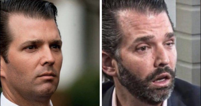 RT @SuckerCarlson: LEFT: Don Jr at 2015 CPAC RIGHT: Don Jr at 2021 CPAC https://t.co/1jXdCtEY3x