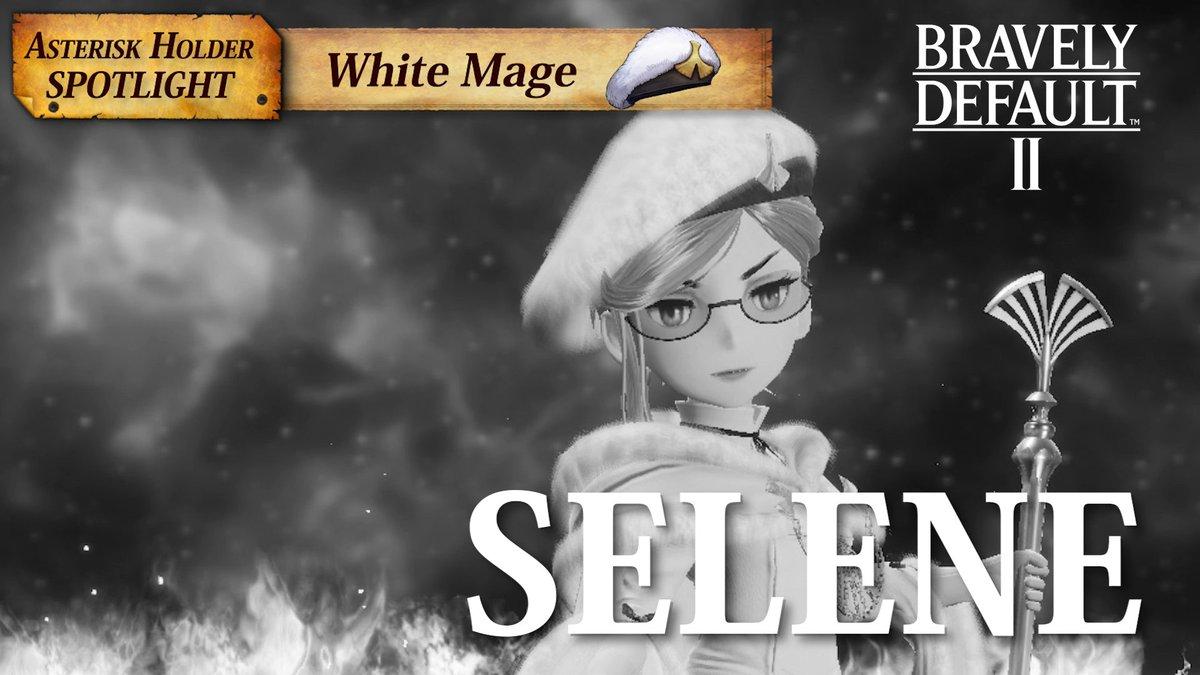 Meet Selene, the White Mage Asterisk holder in #BravelyDefault II! ✨