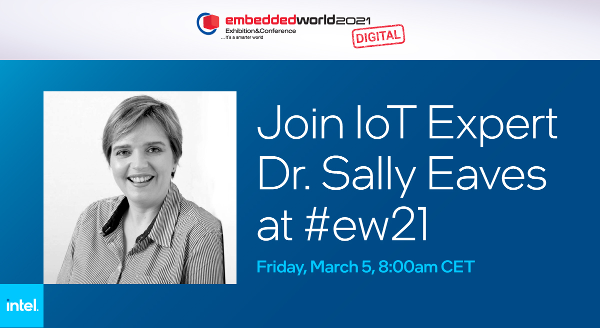If you plan to attend @AAEON's #ew21 session, be sure to join the LIVE coverage from @sallyeaves, top #IoT influencer, to get her take on bringing #EmbeddedSoftware into the modern age: @Inteliot