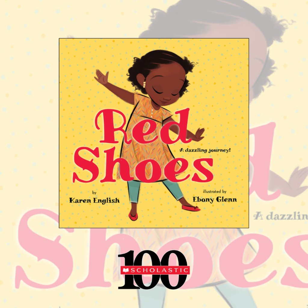 #RedShoes, by Karen English and illustrated by @artsyebby, is a satisfying and heartwarming story about a pair of shoes, two girls, and a connection they share across continents. Learn more ➡️  #ShareBlackStories #BlackHistoryMonth #StorytimeSaturday