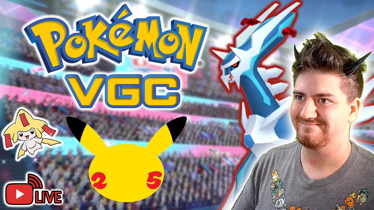 Happy #PokemonDay! Time for a surprise special stream! We will be celebrating with battles with the community as well as a Shiny Legendary Pokémon Giveaway! Come join us!  LIVE NOW! YOUTUBE:  TWITCH: